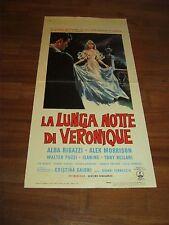 LOCANDINA,LA LUNGA NOTTE DI VERONIQUE,1966,Cristina Gajoni,Vernuccio,Rigazzi