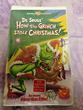 How the Grinch Stole Christmas Horton Hears A Who! VHS Clamshell New