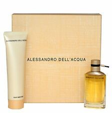 ALESSANDRO DELL'ACQUA GIFT SET WITH EDT SPRAY 50 ML+SILKY BODY MILK 150ML NIB