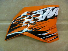 KTM 125 144 250 450 505 SX SXS SXF Used Right Tank Side Cover 2007 #T-BX1