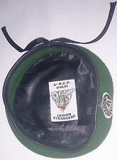 Béret Vert avec insigne TAP PARA 2°REP LÉGION ÉTRANGÈRE Taille * Size M / TT 56