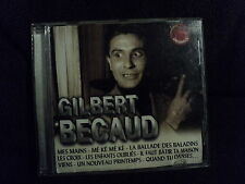"CD ""GILBERT BECAUD - MES MAINS"" best of 18 titres"