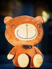 VALENTINE GIFT CHOCO TEDDY BEAR DARK BROWN SMALL TEDDY BEAR 16 INCHES/ 30 CM