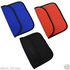 "iPAD MINI 8"" Soft Sleeve Tablet Cover Holder Case w/ Velcro RED, BLUE or BLACK"