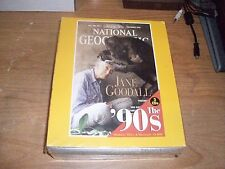 Three Decades Of National Geographic Magazine On CD-ROM SETS WIN 95 70s 80s 90s