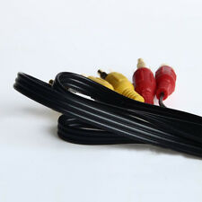 1M 3FT 3 RCA MALE TO 3 RCA MALE AV TV DVD VCD AUDIO VIDEO Extention CABLE