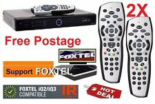 2x Brand new Foxtel Remote Replacement for the Foxtel IQ IQ2 Remote Control (s)