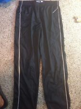 NIKE BLACK CLIMA FIT DRY ATHLETIC PANTS WOMAN'S LARGE 11-14 Ked