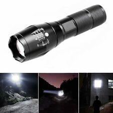 6000 Lumens XML T6 LED Flashlight Zoomable Waterproof 18650 Torch lamp Outdoor