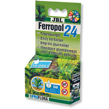 JBL Ferropol 24 Daily Fertiliser Planted Tank Nutrients Aquarium Plants 10ml
