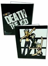 *NEW* Soul Eater: Death the Kid, Patty, Liz Binder by GE Animation