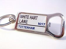 TOTTENHAM STADIUM BADGE STREET SIGN BOTTLE OPENER KEYRING GIFT