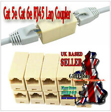 RJ45 Cat 5e 6e Network Cable Straight Ethernet LAN Coupler Joiner Connector