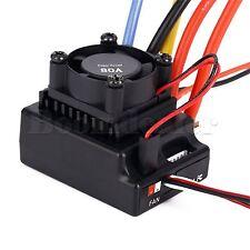 80A ESC PCB Sensored/Sensorless Brushless ESC For 1/10 RC Car Truck Adjustable