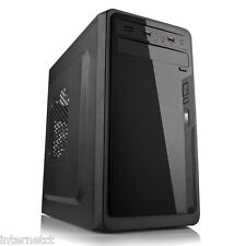 DYNAMODE LOCKSTOCK GC783 GLOSS PIANO BLACK mATX USB 3.0 COMPUTER PC TOWER CASE