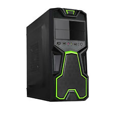 DYNAMODE LOCKSTOCK GC356 BLACK mATX USB 3.0 COMPUTER PC HOME AND OFFICE CASE