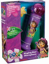 Fisher-Price Nickelodeon Dora the Explorer Singing Star Microphone - Purple