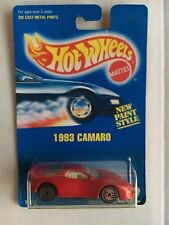 Hot Wheels  Blue Card     Camaro  collector # 262  Red  1991, Chrome  UH's