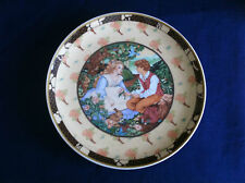 "Villeroy & Boch/Heinrich Once Upon A Rhyme ""Roses Are Red"" plate"