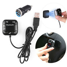 Car Kit Wireles Bluetooth FM Transmitter Handsfree USB LCD SD Remote MP3 Player