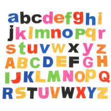 Cute 52 MAGNETIC Lower/Upper ALPHABET LETTERS Kids LEARNING TOY FRIDGE Love New