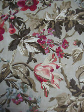 70cm PEPE PENALVER Chenonceau linen union curtain upholstery fabric remnant