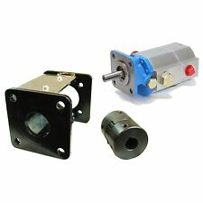 11 GPM 2 Stage Pump / Coupler / Small Engine Pump Bracket Log Splitter Combo Kit