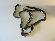 "NEW PRICE Khaki Camouflage  Sm 13-23"" Step-In Harness Made by U.S. Army for Dogs"