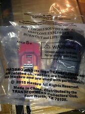 Transformers Botcon 2015 Diaclone Skids Hoist 2 Pack : Burnout Lift Life Ticket