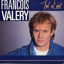 "★☆★ CD SINGLE François VALERY Tout est dit 2-track card sleeve CD 3"" RARE   ★☆★"