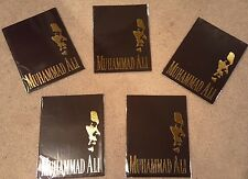 "5 PACK BUNDLE-MUHAMMAD ALI  ""Official"" On-site 50th Birthday Souvenir Program"