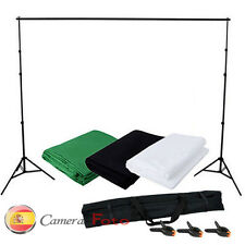 Fondo de pantalla clave croma fondo verde blanco negro foto estudio soporte Kit