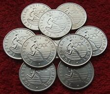 POLAND SET OF COINS PRL 20 ZL XXII OLYMPICS GAMES 1980 YEAR !!! ONE PIECE LOT
