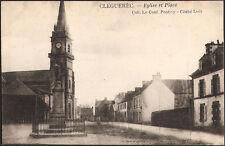 CLEGUEREC (56) - Eglise et Place