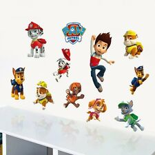 Paw Patrol Wall Art Stickers Removable Kids Nursery Boys Vinyl Decal Decor DIY