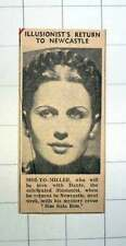 1939 Moi-yo-miller With Dante Celebrated Illusionist Mystery Review Sim Sala Bim
