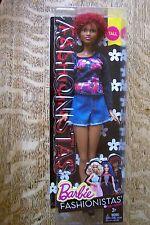 Barbie Fashionistas TALL AFRICAN-AMERICAN Doll #33 FAB FRINGE - Original/NIB