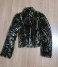Per una ladies faux fur coat size 6 new no tags