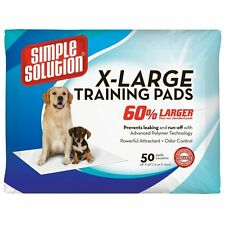 """Dog Training Pads Extra Large 28""""x30"""" 50/Pack Simple Solution"""