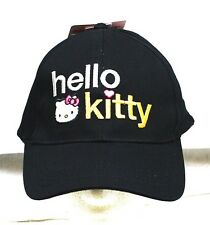 Sanrio Hello Kitty Baseball Cap Adjustable Fit  Hat NWT
