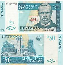 Malawi - 50 Kwacha 2009 UNC - Pick 53d