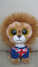 TY TOYS -  Hero the Lion Beanie Boo - NEW WITH TAGS