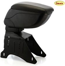 Leuci Universal Car Armrest / Console with Storage Box, Black Color, Sliding