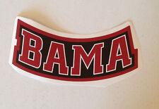 "Alabama Crimson Tide FATHEAD ""BAMA"" Banner Sign 11.5"" x 5"" NCAA Wall Graphics"