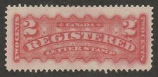 KAPPYSSTAMPS S598  CANADA SC # F1b ROSE MINT  NO GUM CATALOG (HINGED) = $500 VF