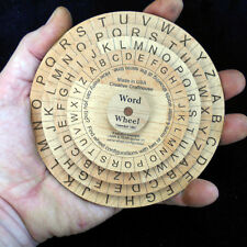 Word Wheel - Brain teaser puzzle - Configure the disks to find 2 or more words
