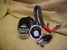 Harley new Universal 3 position increased security ignition switch,two tube keys