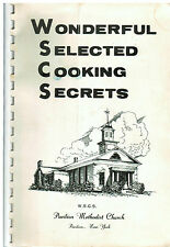 *PAVILION NY ANTIQUE METHODIST CHURCH COOK BOOK *LOCAL ADS *WONDERFUL SECRETS