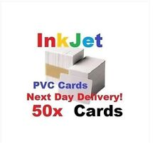 50 PVC inkjet id cards for Epson & Canon can print double-sided