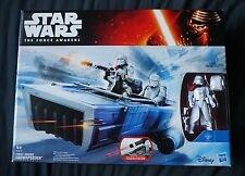 First Order Snowspeeder & Snowtrooper Officer / Star Wars / The Force Awakens